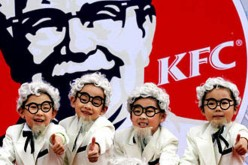 KFC mascot Colonel Sanders remains a popular figure in China.