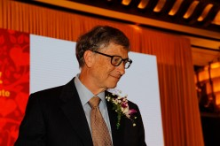 Bill Gates attends the inauguration ceremony of the China Global Philanthropy Institute and the Joint Philanthropy Education Initiative at Diaoyutai State Guest House.