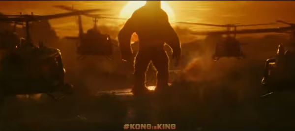 Kong as he prepares for battle against the intruders.