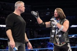 Shane McMahon and A.J. Styles