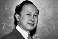 The genius, Qian Xueshen.
