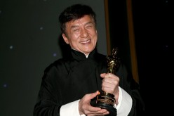 Jackie Chan at the Academy of Motion Picture Arts and Sciences' 8th annual Governors Awards