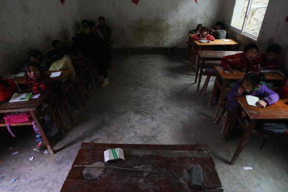 China's rural educational system is underdeveloped.