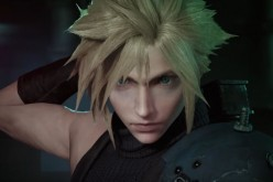 Cloud Strife of 'Final Fantasy' sheathed his sword as he prepares for an adventure.