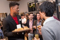 Jimmy Butler attends Bonobos Michigan Avenue Launch Party at Bonobos Guideshop on April 20, 2016 in Chicago, Illinois.