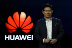 CEO of Huawei Consumer Business Group Richard Yu delivers a keynote address at CES 2017.