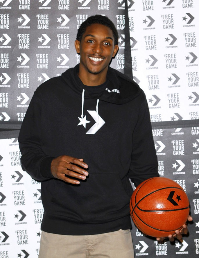 Lou Williams attends the Converse DEFCON - ProLeather 2K11 launch at 547 West 26th Street in New York City.