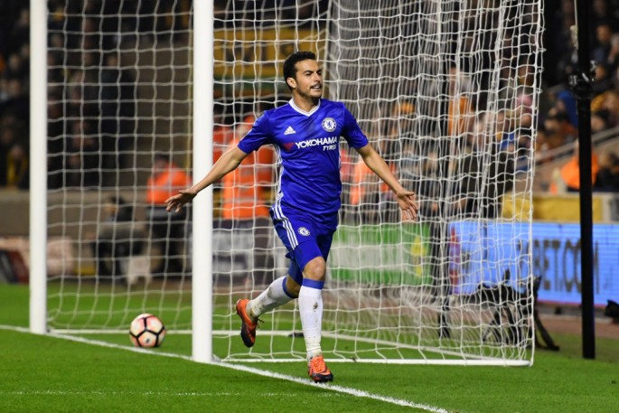 Chelsea forward Pedro.