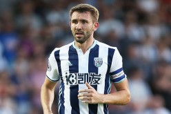 West Brom defender Gareth McAuley.