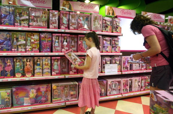 Mattel toys in China