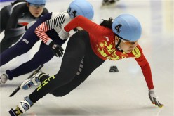 Chinese speed skaters show their best form at the 2017 Asian Winter Games.