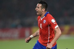 Cagliari and Chile midfielder Mauricio Isla.