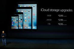 Apple iCloud storage upgrades introduced by Phil Schiller, Senior Vice President of Worldwide Marketing