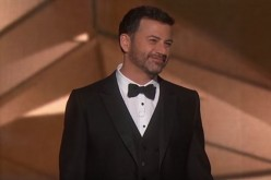 TV personality Jimmy Kimmel hosts the 2017 Oscars.