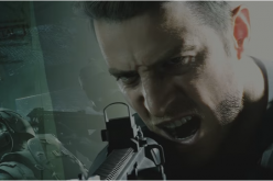 Chris Redfield takes aim in
