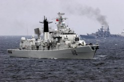 China wants a stronger navy and has increased its naval budget.