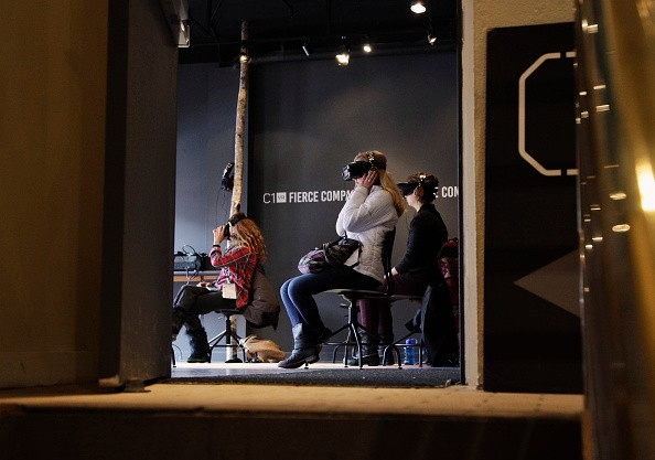 A general view of the virtual-reality experiences at the 2017 Sundance Film Festival.