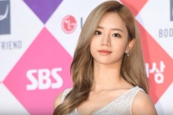 Girl's Day member Hyeri arrives at the red carpet of the 2016 SBS drama awards at SBS Prism Tower on Dec. 31, 2016 in Seoul, South Korea.