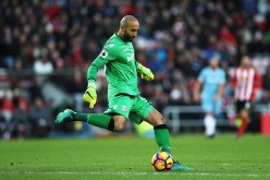 Stoke City goalkeeper Lee Grant.