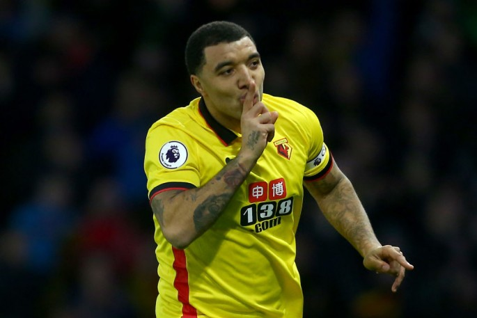 Watford striker Troy Deeney.