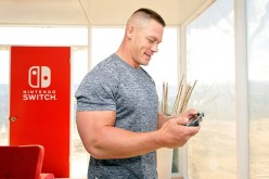 WWE superstar John Cena hosts Nintendo Switch in Unexpected Places for the Nintendo Switch system on Feb. 23, 2017 at Blue Cloud Movie Ranch in Santa Clarita, California.