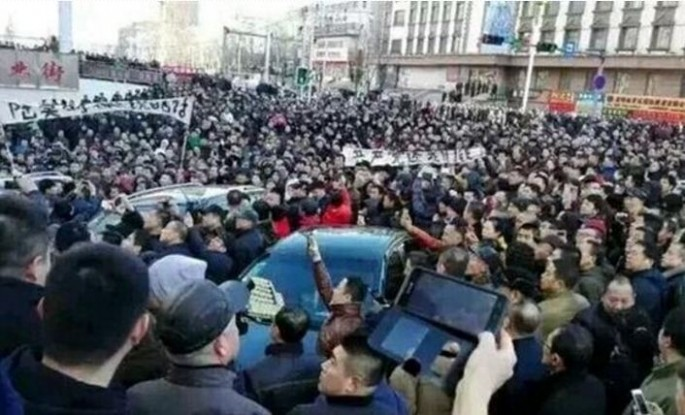 Since labor unions are forbidden in China, Wu and other Longhua miners have taken to WeChat, a social media app, to organize and let their demands be heard.