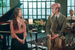 K-Pop stars Suzy of miss A and Baekhyun of EXO collaborate on the song 'Dream.'