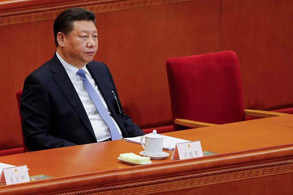 President Xi Jinping at the National People's Congress.