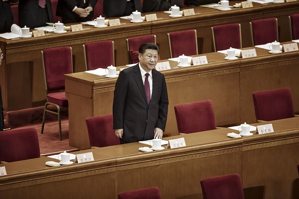 Xi Jinping arrives during the opening of the fifth session of the 12th CPPCC at the Great Hall of the People in Beijing, China, on Friday, March 3, 2017.