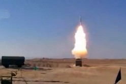 Iranians launch an S-300 SAM during the March 3 test.