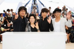 Boon Joon Ho, Kim Hye-Ja, Won Bin and Jin Goo attends the 'Mother' photo call held at the Palais Des Festivals during the 62nd International Cannes Film Festival on May 16, 2009 in Cannes, France.