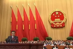Premier Li Keqiang delivers the annual government work report at the 5th Plenum of the 12th National People's Congress at the Great Hall of the People in Beijing on March 5, 2017.