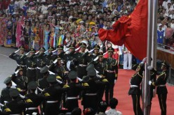 China has increased the military budget by only 7 percent.