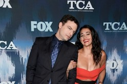 Justin Kirk and Natalie Martinez attend the FOX All-Star Party during the 2017 Winter TCA Tour at Langham Hotel on January 11, 2017 in Pasadena, California.
