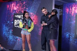 Karrueche Tran, Quincy Combs and DeJ Loaf speak onstage during the BET How To Rock: Denim show - Inside at Milk Studios on August 10, 2016 in New York City.