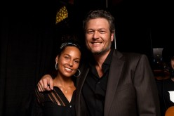 'The Voice' Season 12 coaches Alicia Keys and Blake Shelton attend the 10th Annual ACM Honors at the Ryman Auditorium on August 30, 2016 in Nashville, Tennessee.
