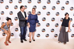 The cast of 'American Housewife' attends the Disney ABC Television Group TCA Summer Press Tour on August 4, 2016 in Beverly Hills, California.