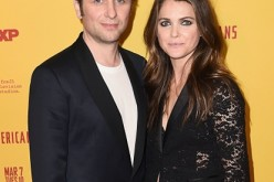 Matthew Rhys and Keri Russell attend 'The Americans' Season 5 premiere at DGA Theater on February 25, 2017 in New York City.