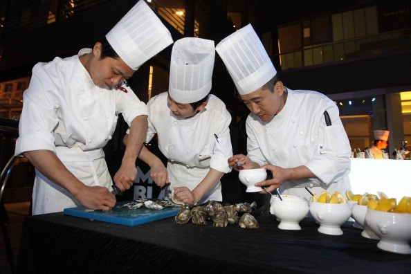 Being a chef in China has long been viewed as a mostly male affair, given the physically taxing nature of tending to kitchen action.