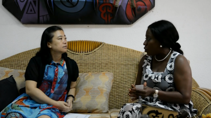Newly appointed Ghanaian Tourism, Arts and Culture Minister Catherine Afeku made known her agency's intent during a courtesy call by the Chinese Ambassador to Ghana Sun Baohong.