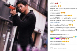 Song Joong-ki Instagram Post