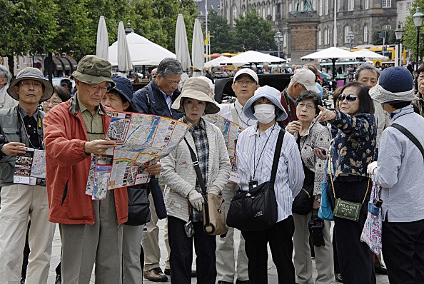Chinese Tourists in Denmark