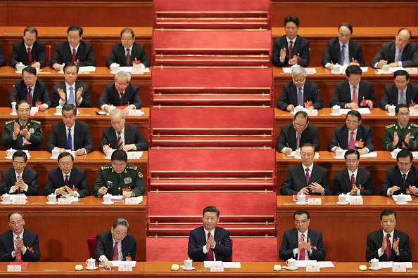 President Xi Jinping attends the closing of the NPC.