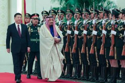 King Salman of Saudi Arabia visits China.