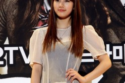 Singer and actress Suzy poses after the press conference to promote KBS TV drama 'Dream High' at the Kintex on December 27, 2010 in Goyang, South Korea.