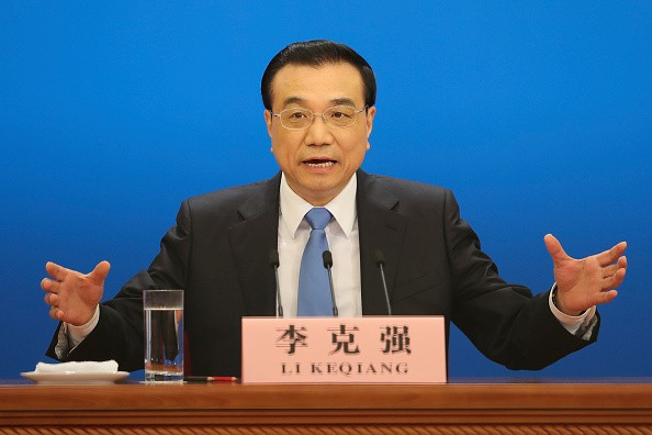 "Chinese Premier Li Keqiang hopes for ""a united, stable and prosperous European Union."""