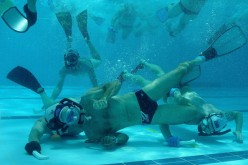 Since its invention, underwater hockey has gained fans in South Africa, Canada and Australia.