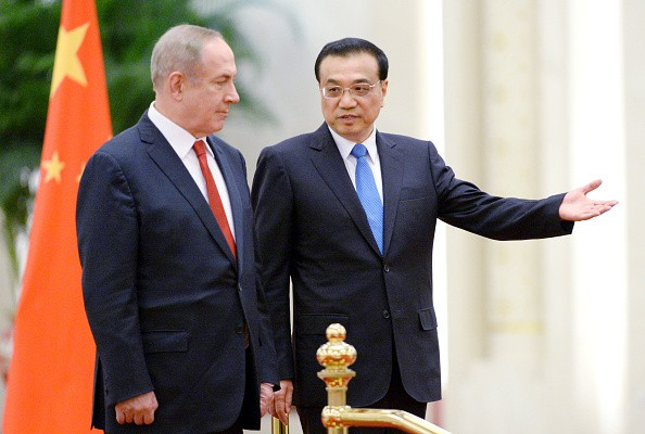 China welcomes Israel Prime Minister Netanyahu