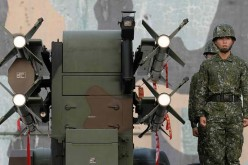 The Taiwanese military has already developed land-to-air missiles poised for attacking mainland China.