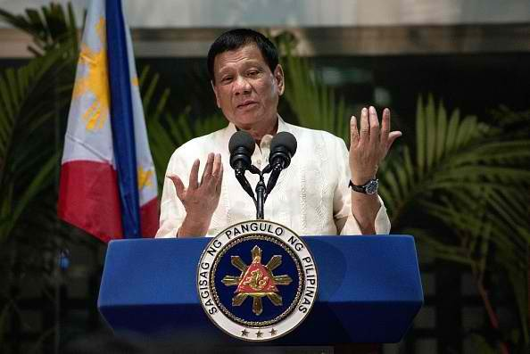 Philippine President Duterte said that he trusts that China will not build anything on the Scarborough Shoal.